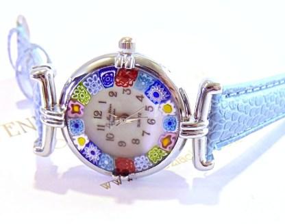 Orologio Murrina Azzurro Silver