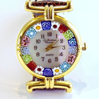 Orologio Murrina Marrone Gold