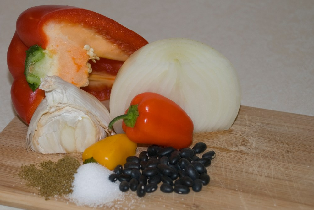 Recipe: Caraotas Negras (Venezuelan Black Beans) (1/6)