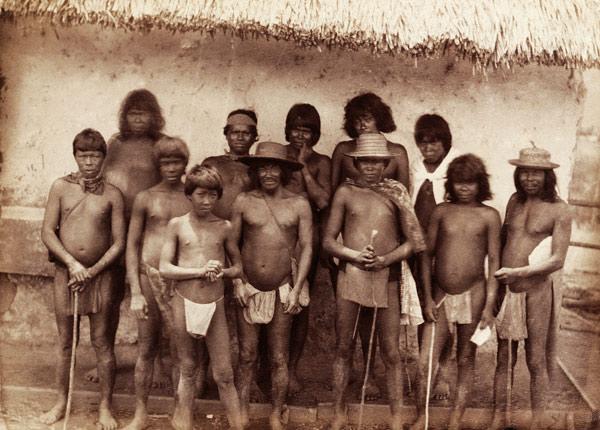 Indiens Guahibos
