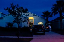 The house we stayed at in Davenport, Florida
