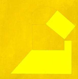 giallo più acril su tavola 2005