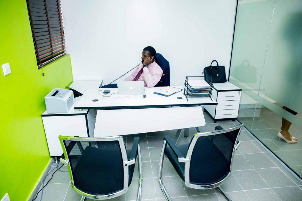 Serviced office for entrepreneur