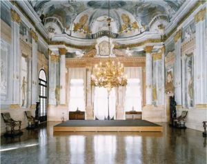 Baroque Interior of the Ca' Rezzonico