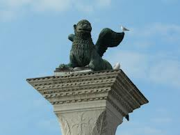 Column of the winged lion of Venice