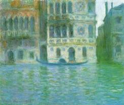 Claude Monet's Palazzo Dario (1908)  Source: