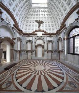 Interior museum of the Palazzo Grimani
