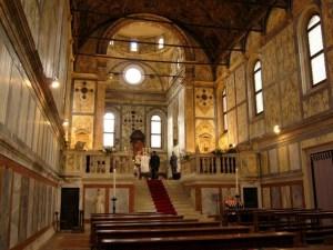 Interior of Santa Maria dei Miracoli