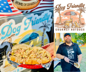 Dog Friendly Gourmet Hot Dogs Mobile Food Vendor in Venice FL