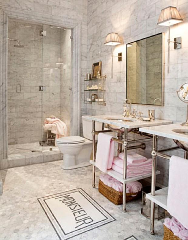 French Bathroom Decor - Home Design Ideas on