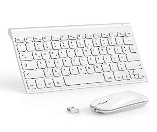 seenda Tastatur Maus Set Kabellos, 2.4G Ultra Slim