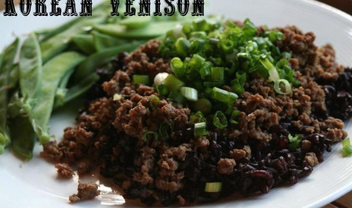 Korean Venison