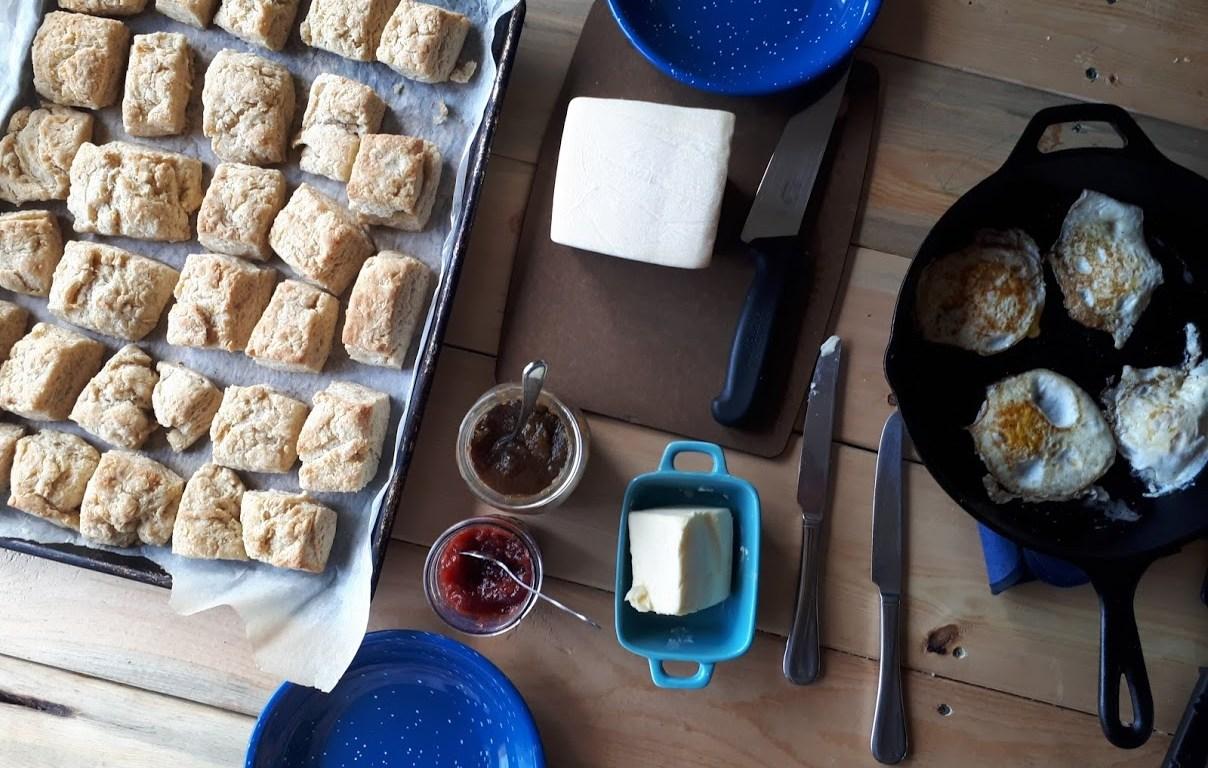 Sourdough Biscuits