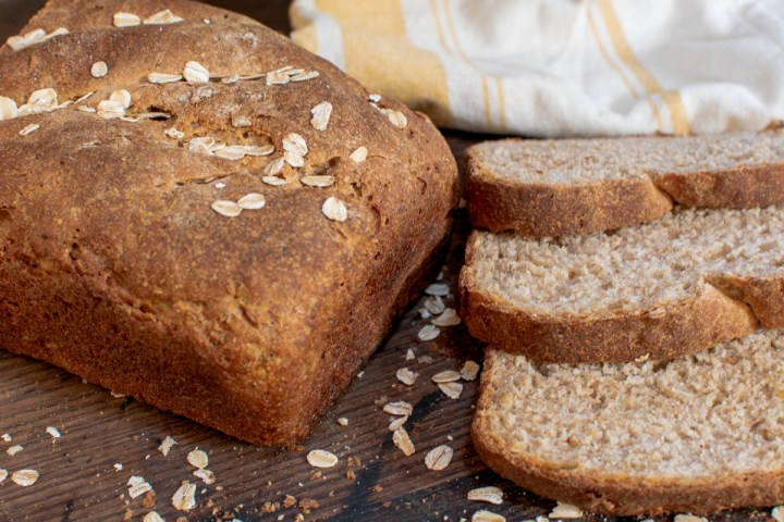Sourdough Honey Oat Bread