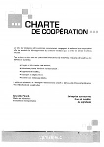 Charte de coopération ville entreprises