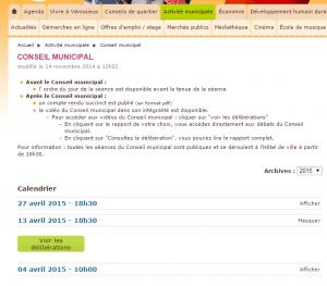 Conseil municipal   Activité municipale   Ville   Vénissieux   Ville de Vénissieux