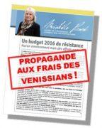 Propagande aux frais des Vénissians - Vénissieux