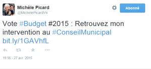 twitte picard conseil municipal