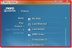 Select Composite as Video to play