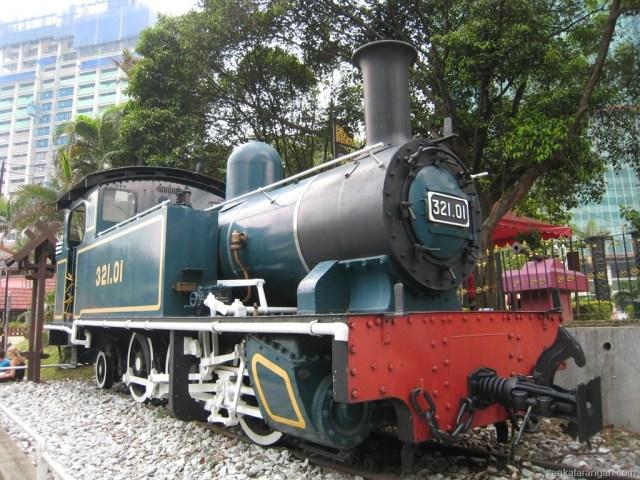 Kuala Lumpur National Museum Locomotives