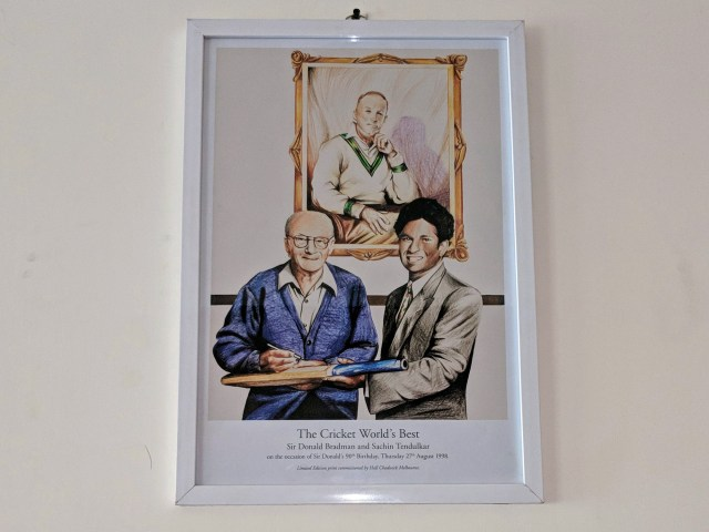 Sir Donald Bradman and Sachin Tendulkar