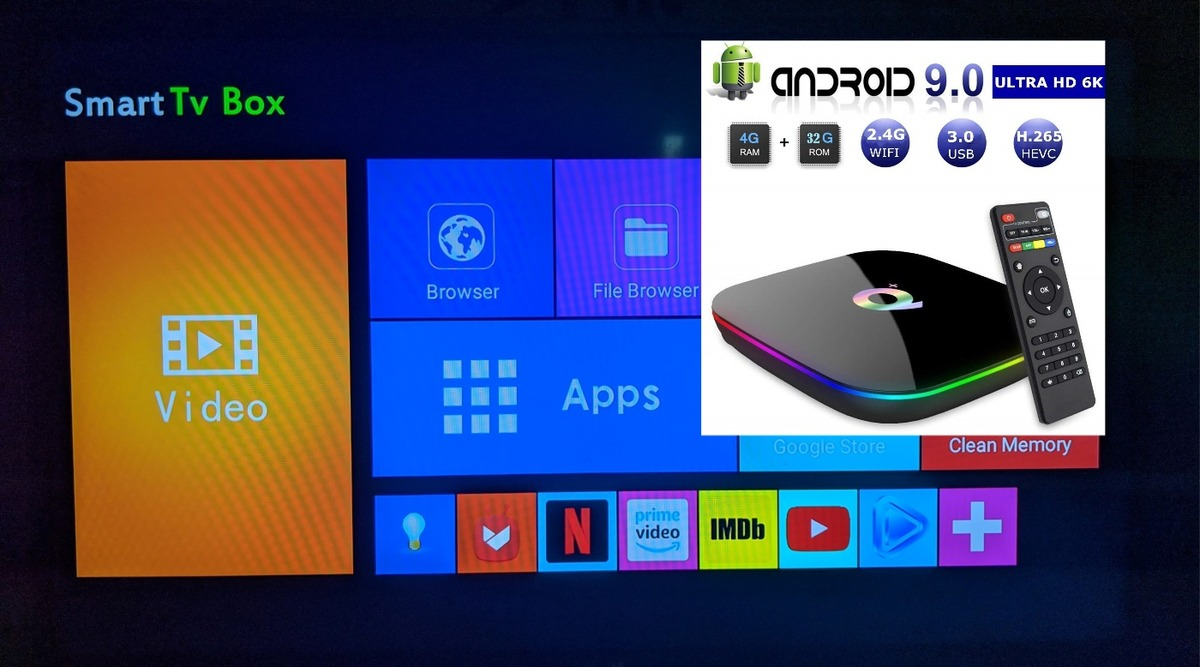 SEC Android 9.0 TV Box