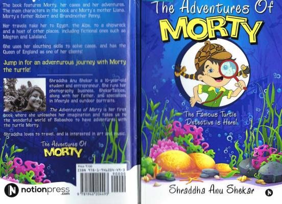 The Adventures of Morty: The Famous Turtle Detective is Here!