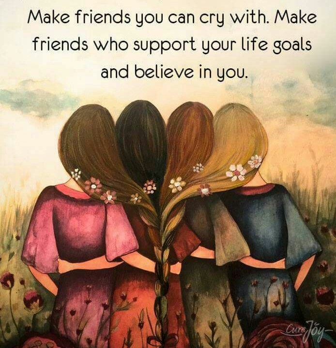 SIMPLE WAYS TO DISCOVER YOU HAVE TRUE FRIENDS.. - venkymom