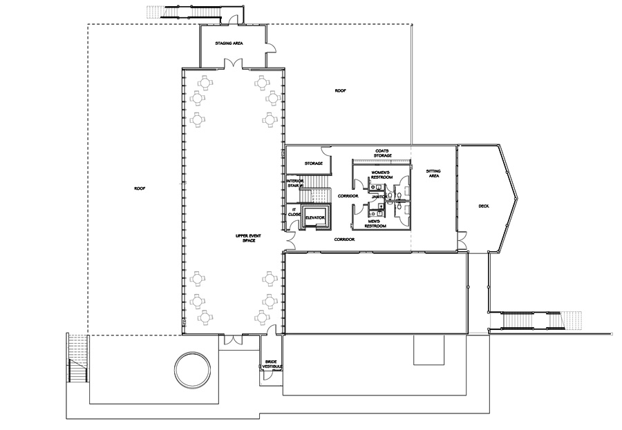 SECOND FLOOR PLAN For Party