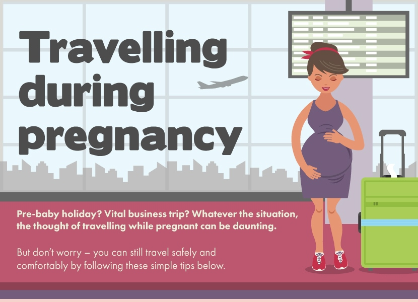 Travelling During Pregnancy - Venngage Infographic