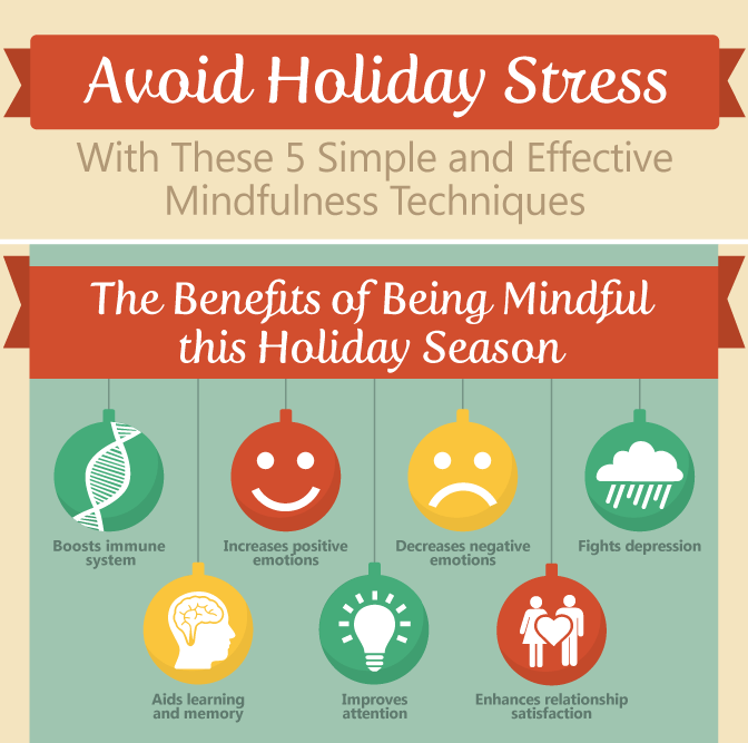 Avoid Holiday Stress 5 Simple And Effective Mindfulness