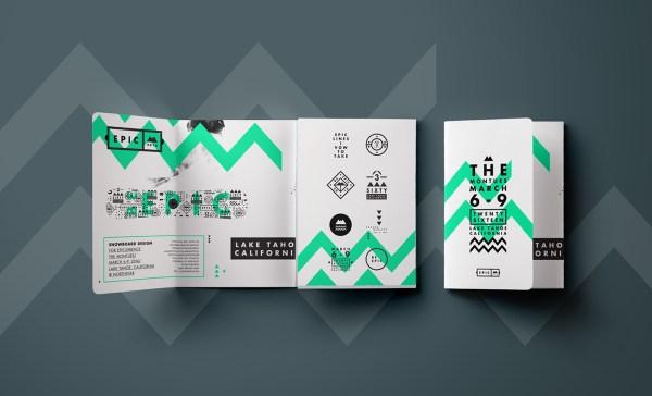 Epic Green Tri-fold Travel Brochure Idea - Venngage