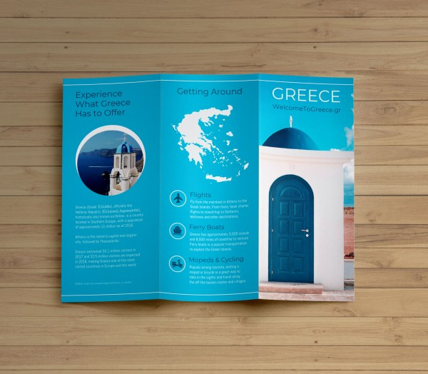 20 Tri Fold Travel Brochure Pictures And Ideas On Meta Networks