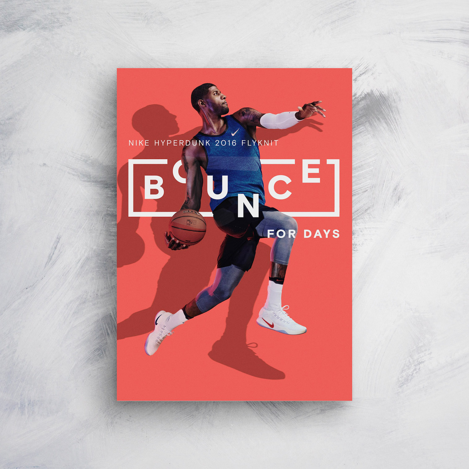 Nike Bounce For Days Product Poster Example Venngage