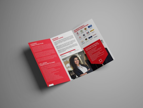 Creative Trifold Brochure Design Examples & Ideas