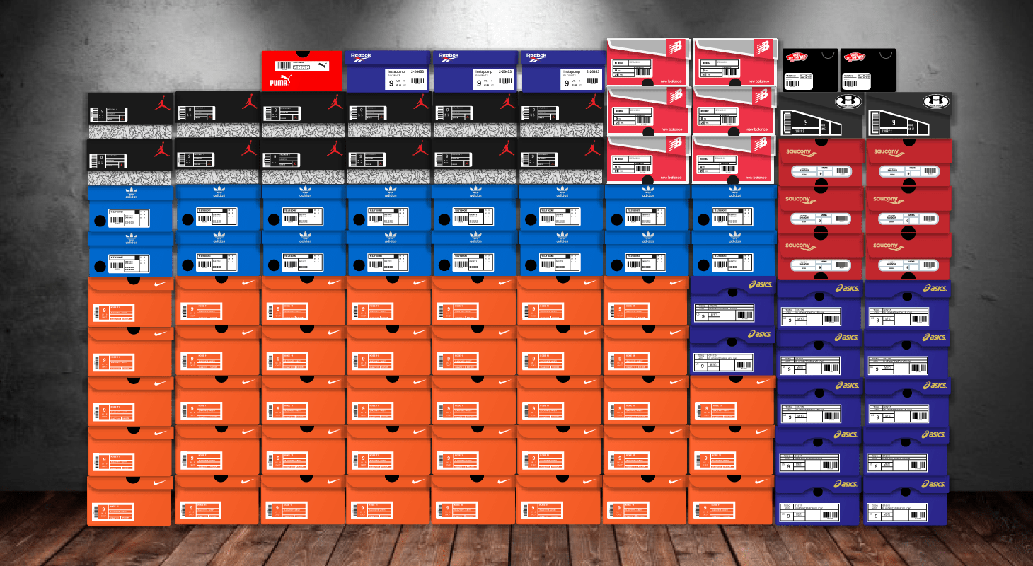What Brands Do Sneakerheads Love Most? Infographic