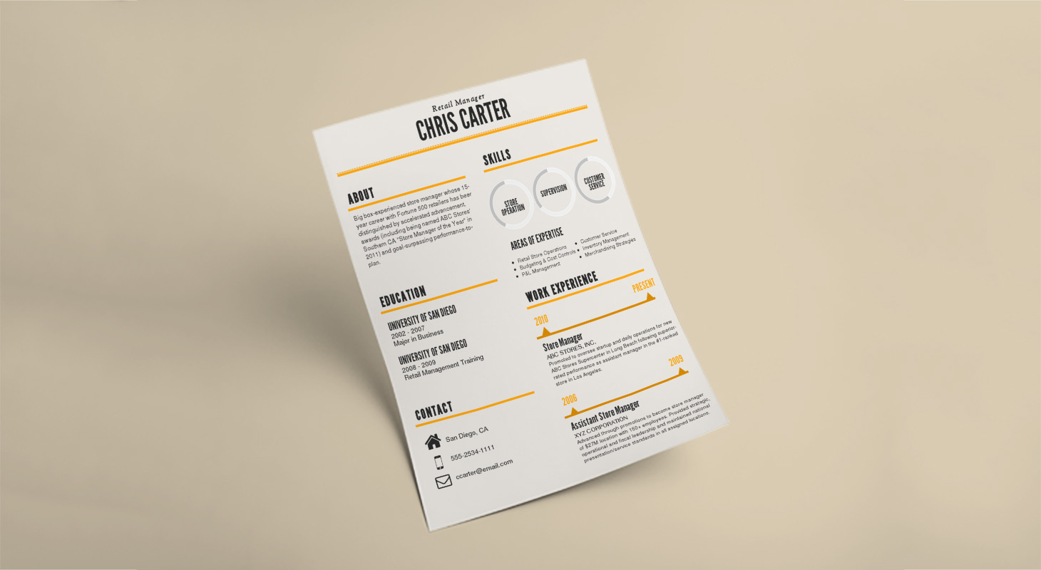 Steps To Make A Resume How To Make An Infographic Resume Updated Venngage