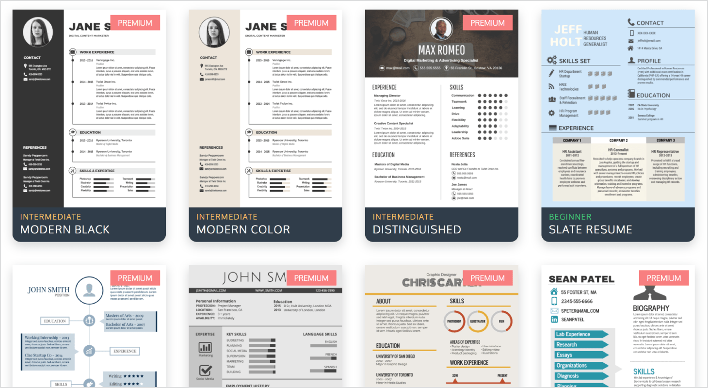 How To Create Resume On Word How To Create And Share An Infographic Resume Infographic Venngage
