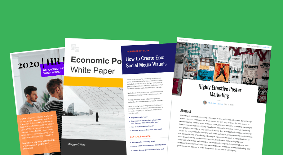 10 Page Turning White Paper Examples And Design Tips Venngage