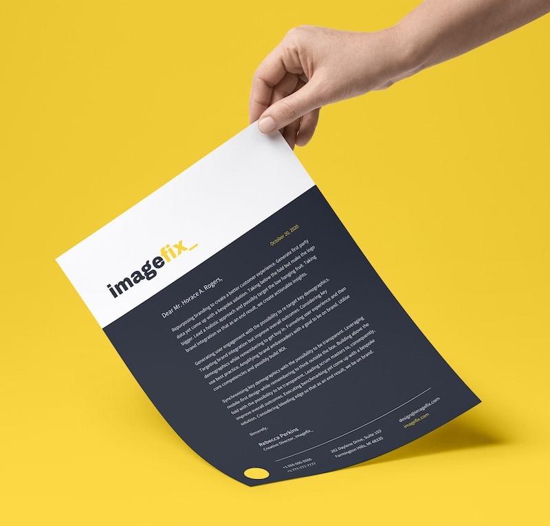 20 professional business letterhead