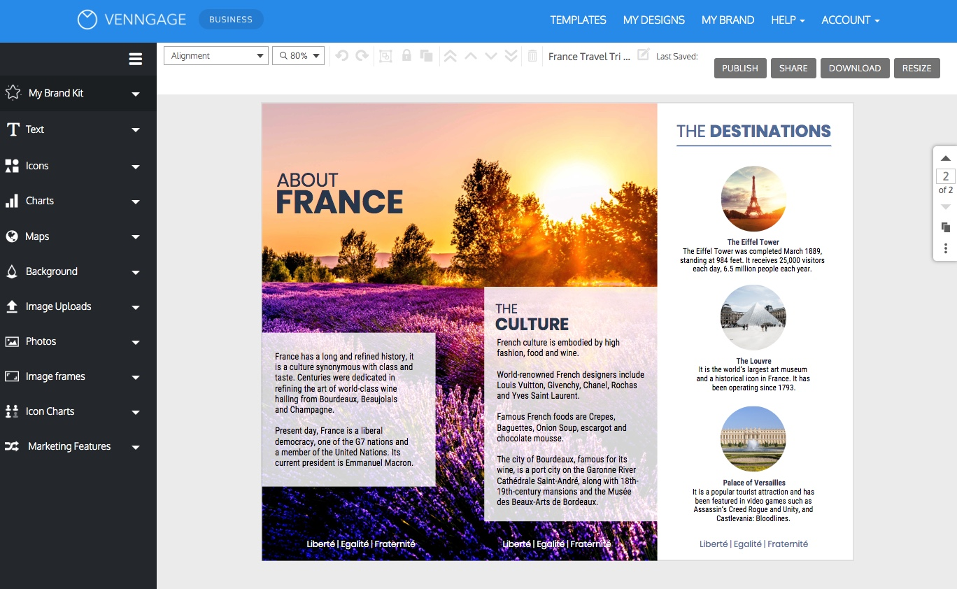 Travel Brochure Templates Make A Travel Brochure Venngage