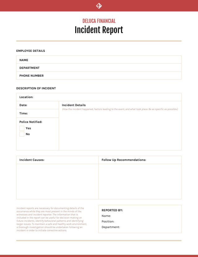 How to Write an Incident Report [+ Templates] - Venngage