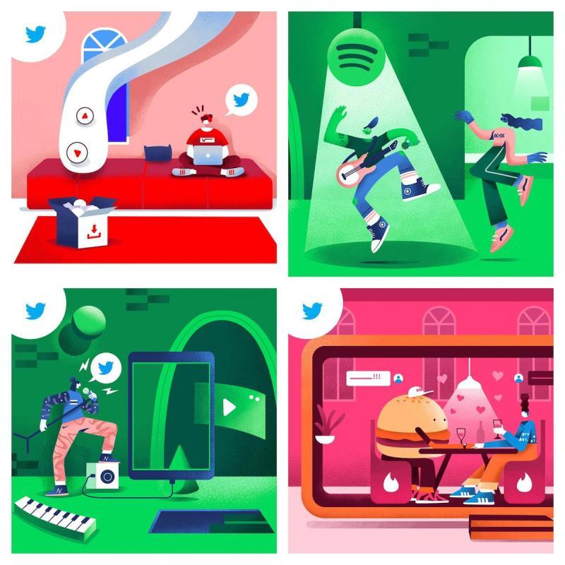 Graphic Design Trends 2020 - Color Gradients 4
