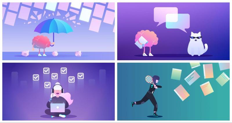 Graphic Design Trends 2020 - Color Gradients 7