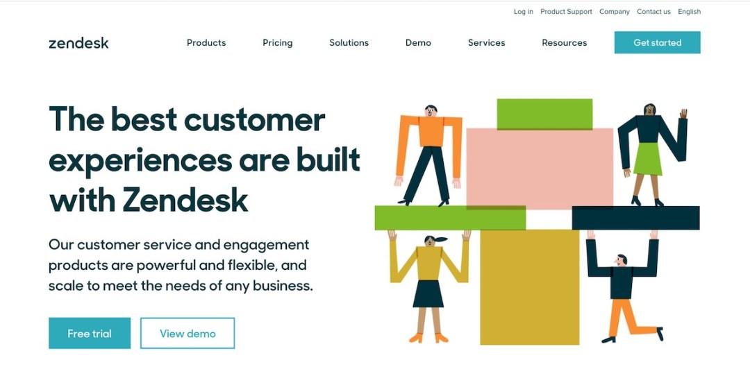 Graphic Design Trends 2020 - Minimalist Landing Pages 5