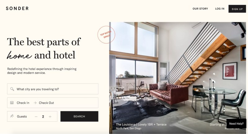Graphic Design Trends 2020 - Minimalist Landing Pages 6
