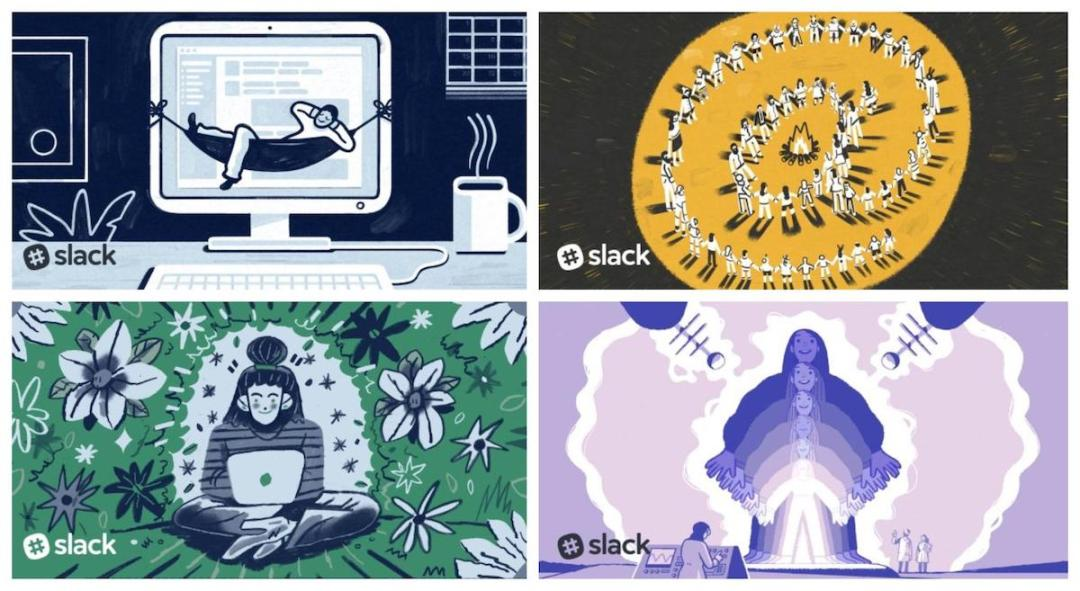 Graphic Design Trends - Dynamic and Complicated Hand-Drawn Illustrations 3