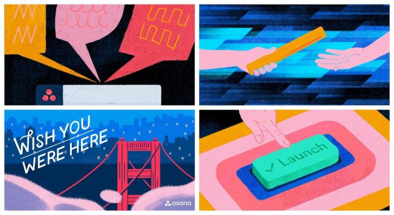 Graphic Design Trends - Dynamic and Complicated Hand-Drawn Illustrations 5