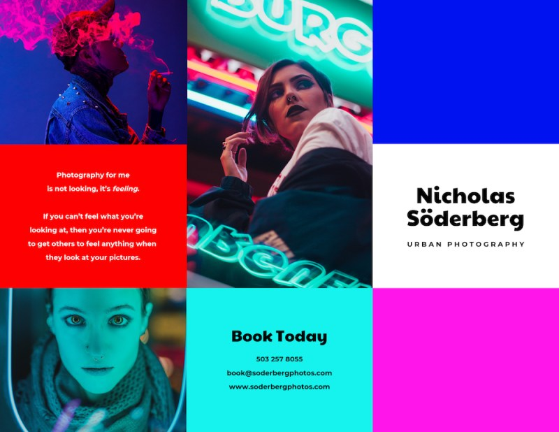 Graphic Design Trends - Futuristic Influences Are Mainstream1