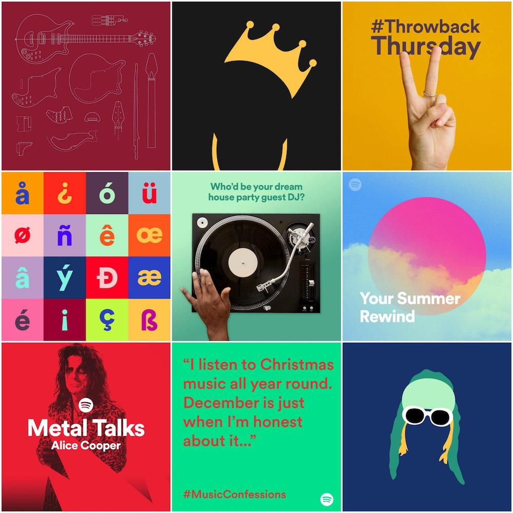 Graphic Design Trends Infographic - Multiple brand color schemes 2